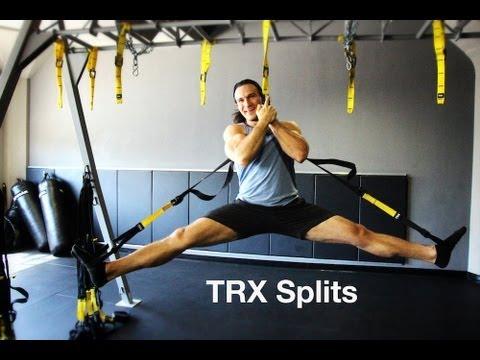splits training exercises with trx  youtube
