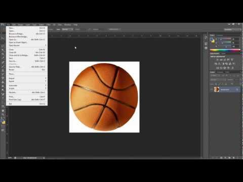 How To make an Animation (GIF) in Photoshop CS6 CS5 or 4 *HD*  *Voice TUT*