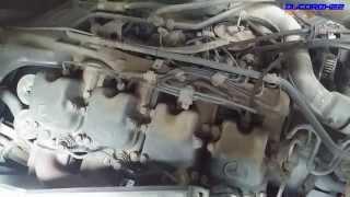Mercedes-Benz OM442 LA V8 Engine View