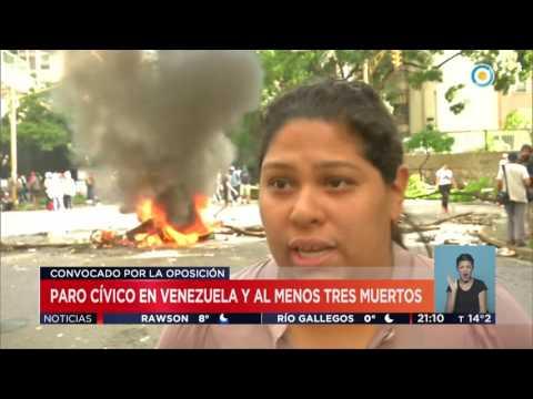 Paro cívico en Venezuela