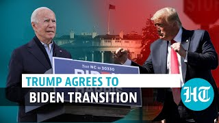 Trump gives green signal for Biden transition; still refuses to concede