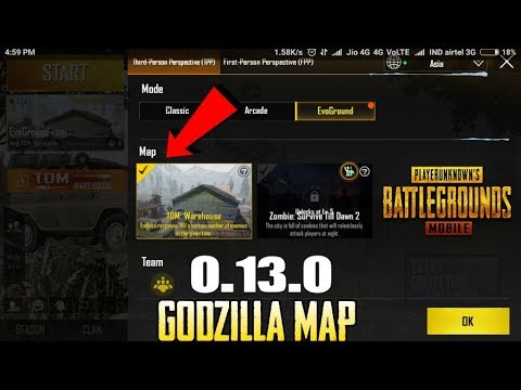Pubg Mobile 0.13.0 GODZILLA EVENT Is Out | New Update | New Gun | New Mode