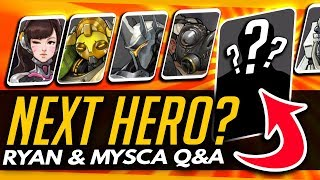 Overwatch | WHAT HERO NEXT? + NEW BLIZZ SHOOTER PROJECT - Ryan & Mysca Q&A