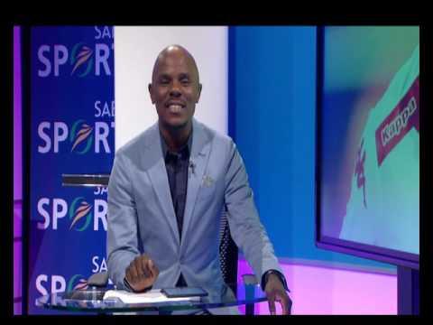 Thomas Mlambo interviews footballer Mothobi Mvala