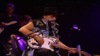 Waylon Jennings & Waymore Blues Band - Help Me Make It Through The Night (Live in Nashville - 2000)