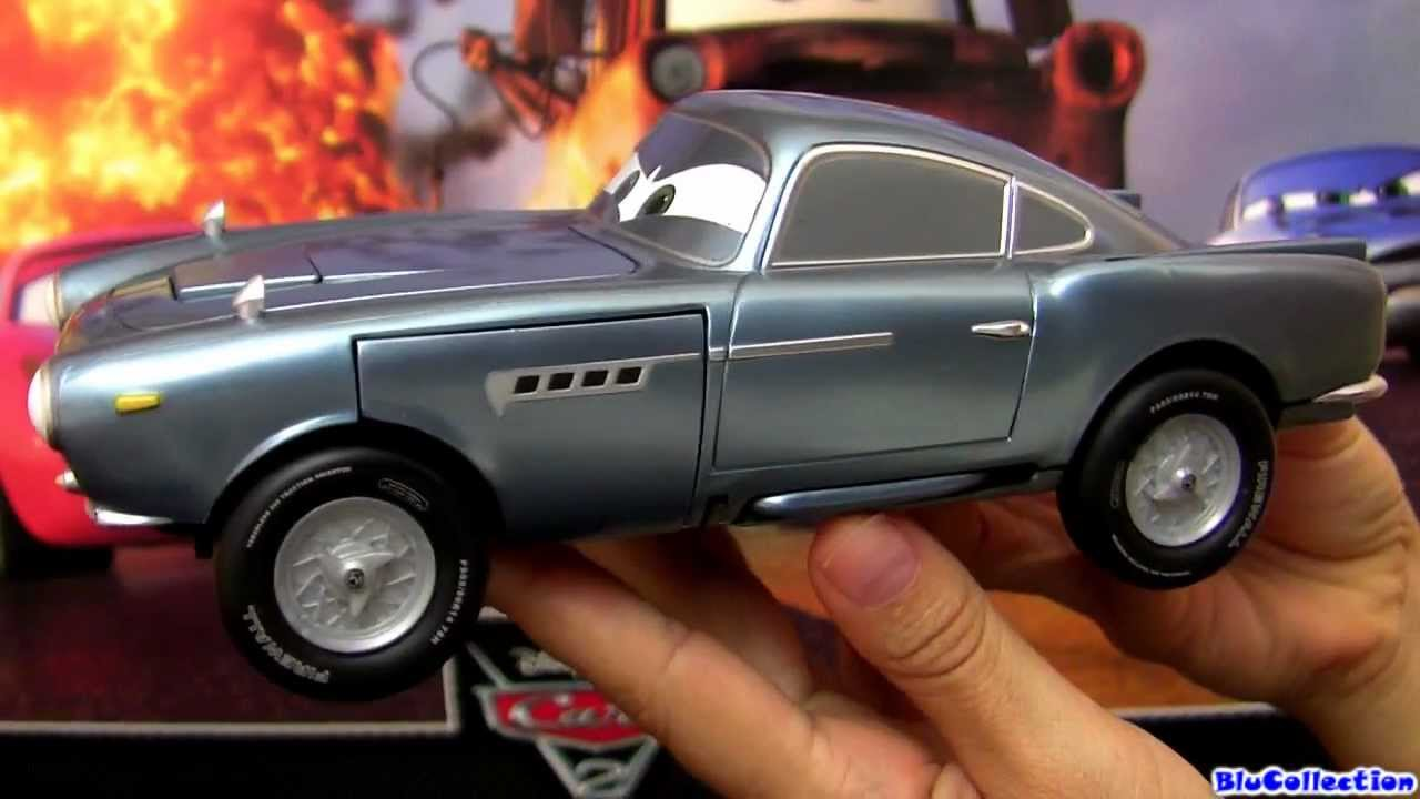 Buy Disney Pixar Cars 2 Finn McMissile 1:55 Scale Mattel 2011 ... | 720x1280