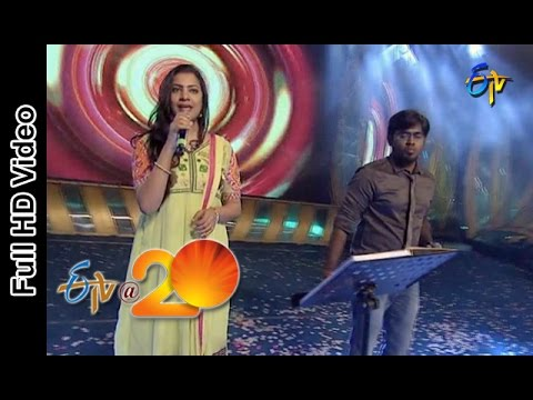 Deepu and Geetha Madhuri Performs - Chamka Chamka Song in Vijayanagaram ETV @ 20 Celebrations