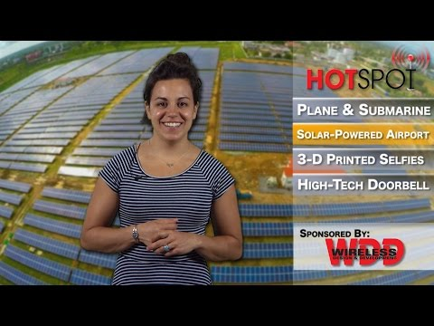HotSpot Episode 127 - World's First Completely Solar-Powered Airport