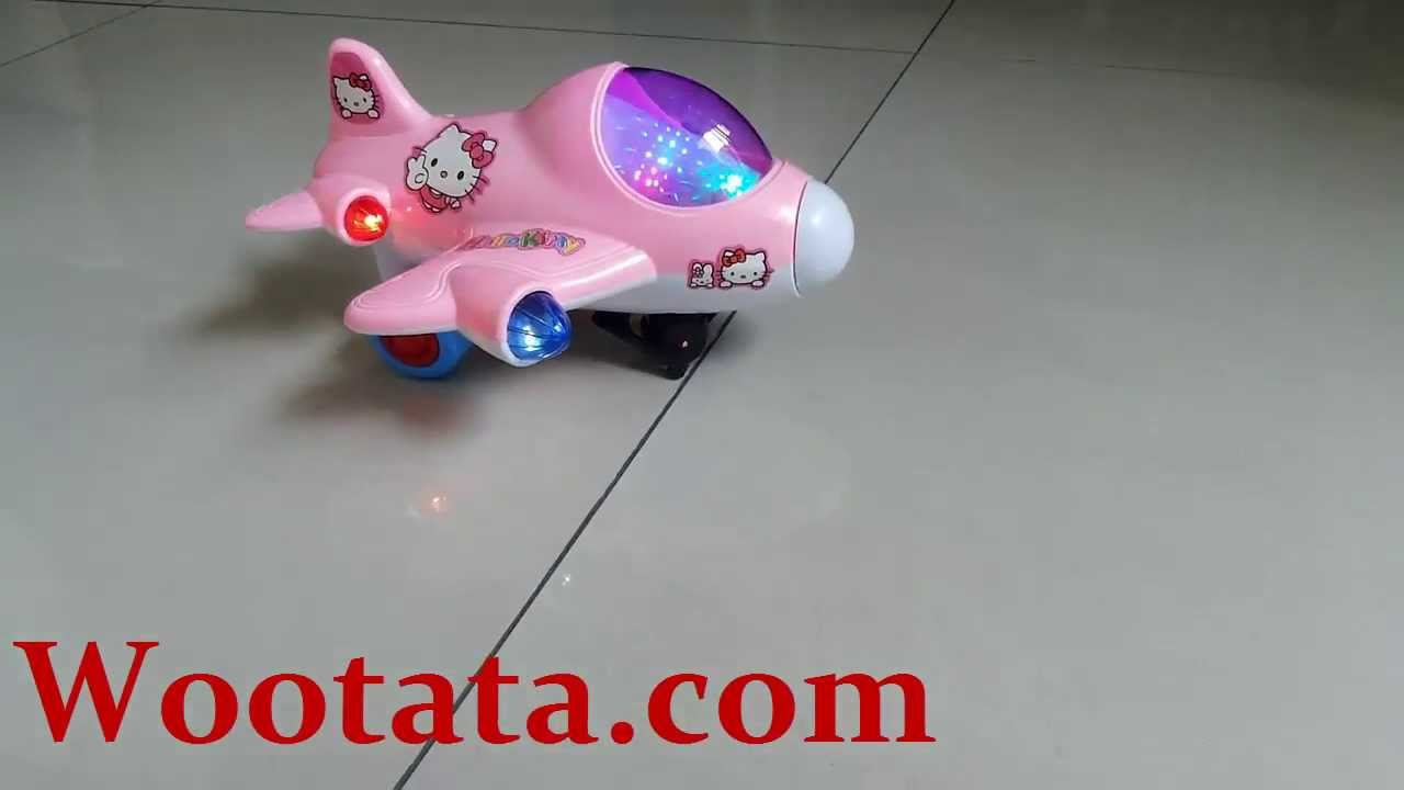 Mainan Pesawat Anak Hello Kitty YouTube