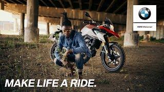 BMW G 310 GS | Everyday Adventures: Interview with Fhatuwani Mukheli