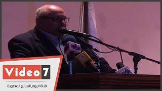 رئيس جامعة عين شمس بمؤتمر الوحدة الوطنية: المسلمون والمسيحيون عيلة واحدة