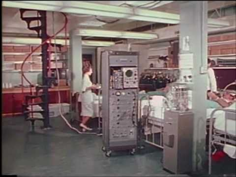 """NASA bed rest study from """"Life Sciences At The Manned Spacecraft Center"""""""