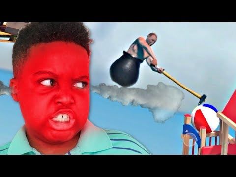 MY SISTER MADE ME LOSE! - Getting Over It - Onyx Squad |