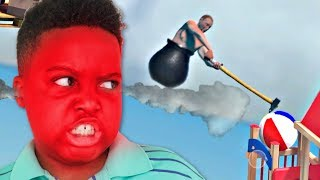 MY SISTER MADE ME LOSE! - Getting Over It - Onyx Squad
