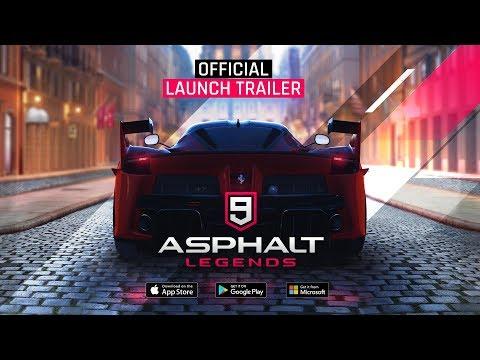 Asphalt 9: Legends - Official Launch Trailer