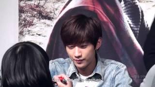 140228 DaeGu Fansign Event - Warm N Cutee JinYoung thumbnail