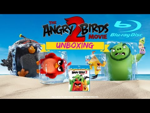 The Angry Birds 2 Blu Ray Unboxing Youtube