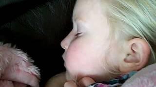 the little devil snores