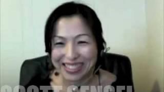 英語 発音 スコット・ペリー先生 生徒にインタビュー 町田有沙 検索動画 16