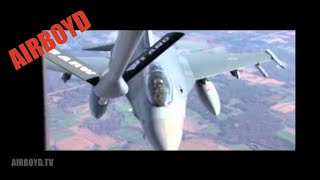 115th Fighter Wing F-16 Inflight Air Refueling