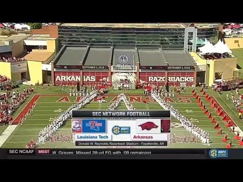 Arkansas vs. Louisiana Tech 2016