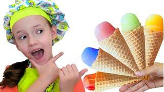 Ice Cream Song | 동요와 아이 노래  어린이 교육 Ulya Liveshow