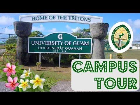 Тур по University of Guam, университет в котором я учусь🌺