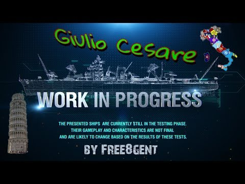 World of Warships [deutsch] –  Giulio Cesare | Work in Progress