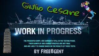 World of Warships [deutsch] –  Giulio Cesare | Work in Progress