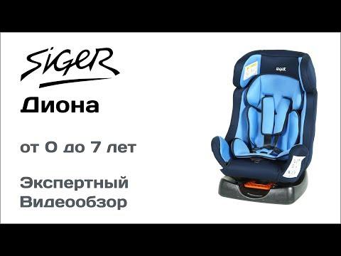 Автокресло Siger Diona обзор Супермаркета Детских Автокресел