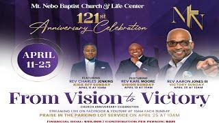 121 Years. Sunday Worship Celebration Kickoff feat. Charles Jenkins