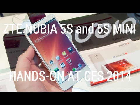 ZTE Nubia 5S and 5S Mini hands-on
