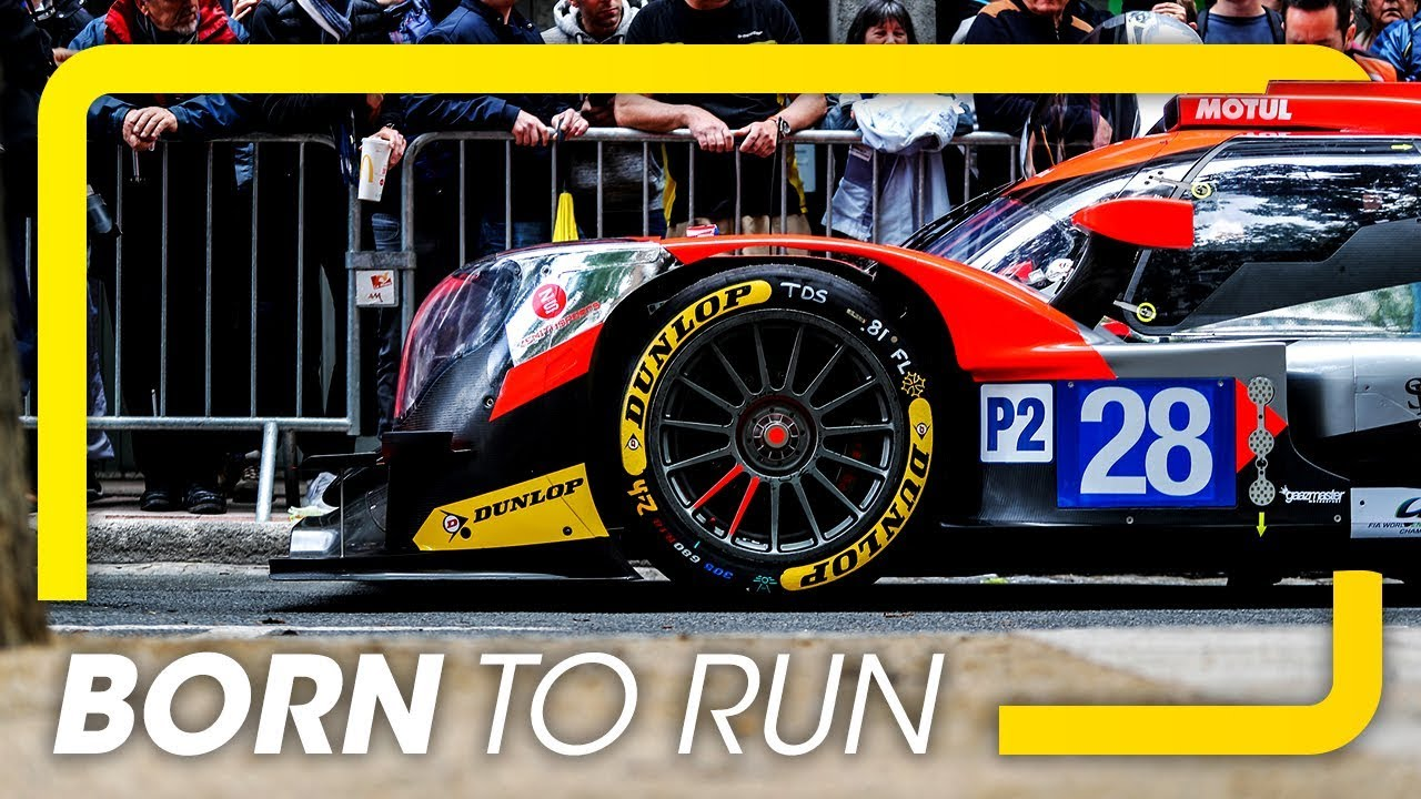 Dunlop tires - Born to run!