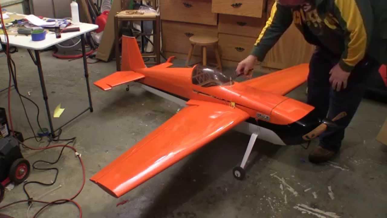 Aeroworks 50cc Edge 540 ARF QB