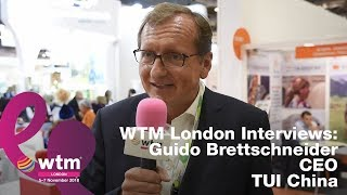 Guido Brettschneider, CEO of TUI China on Tourism Developments in China