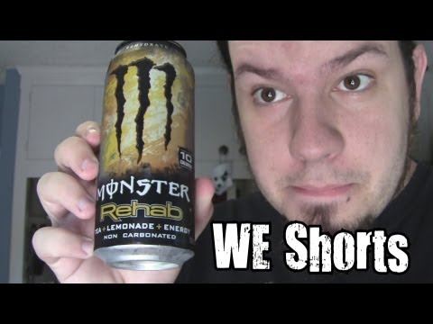 WE Shorts - Monster Rehab Tea + Lemonade + Energy