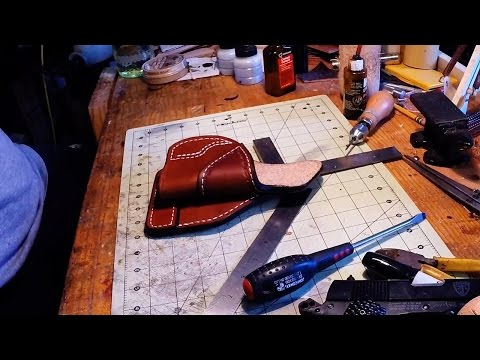 DCL - Kimber Leather Paddle Holster