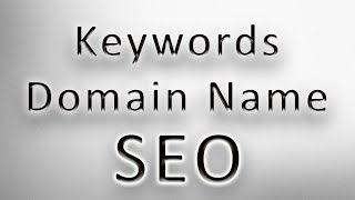 Keywords in Domain Name as Google Ranking Factor - SEO
