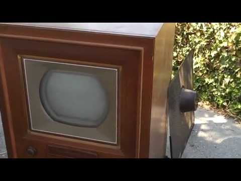 RCA CT100 CT-100 Vintage Color Television TV Set