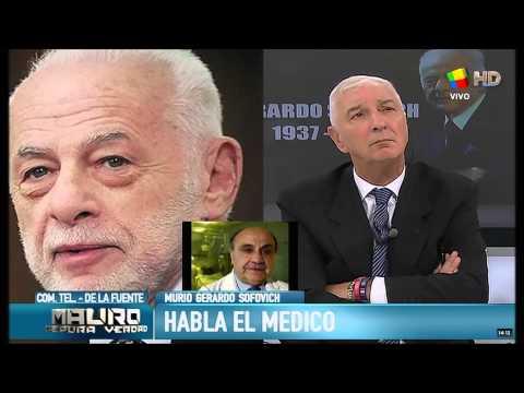 La causa de la muerte de Gerardo Sofovich: el parte médico