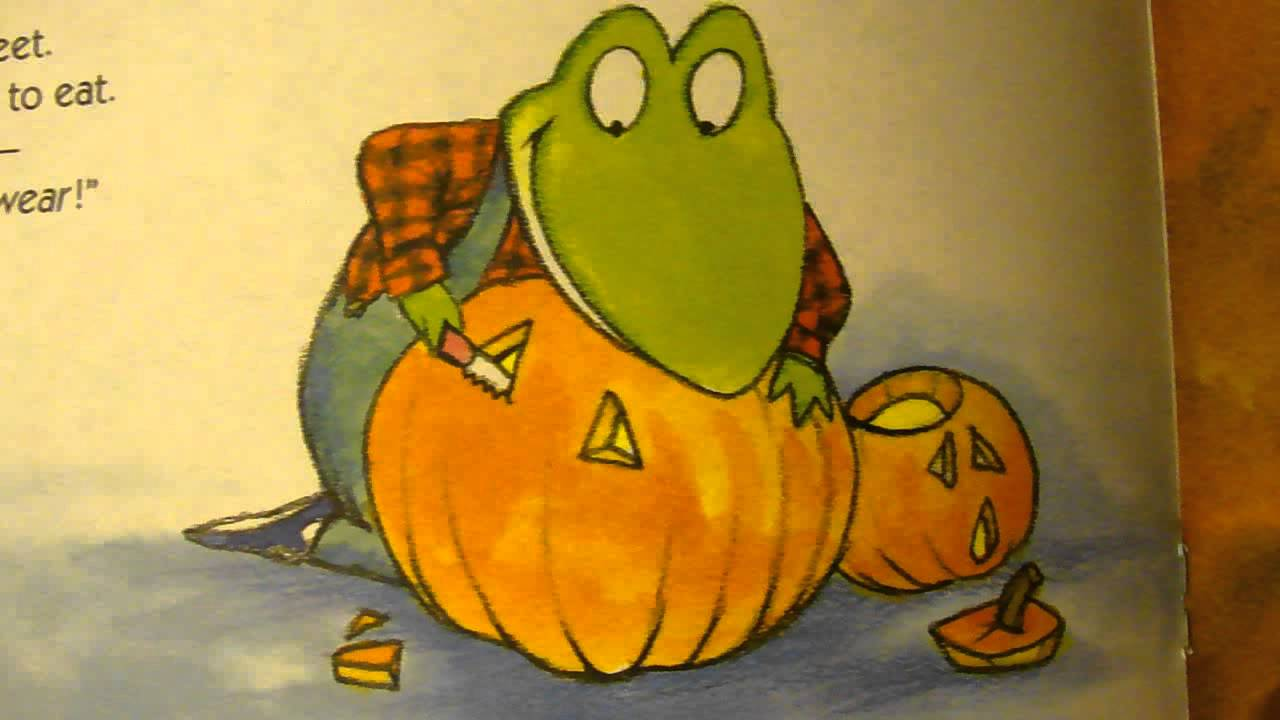 froggys halloween children read aloud story toddler and preschooler halloween picture book
