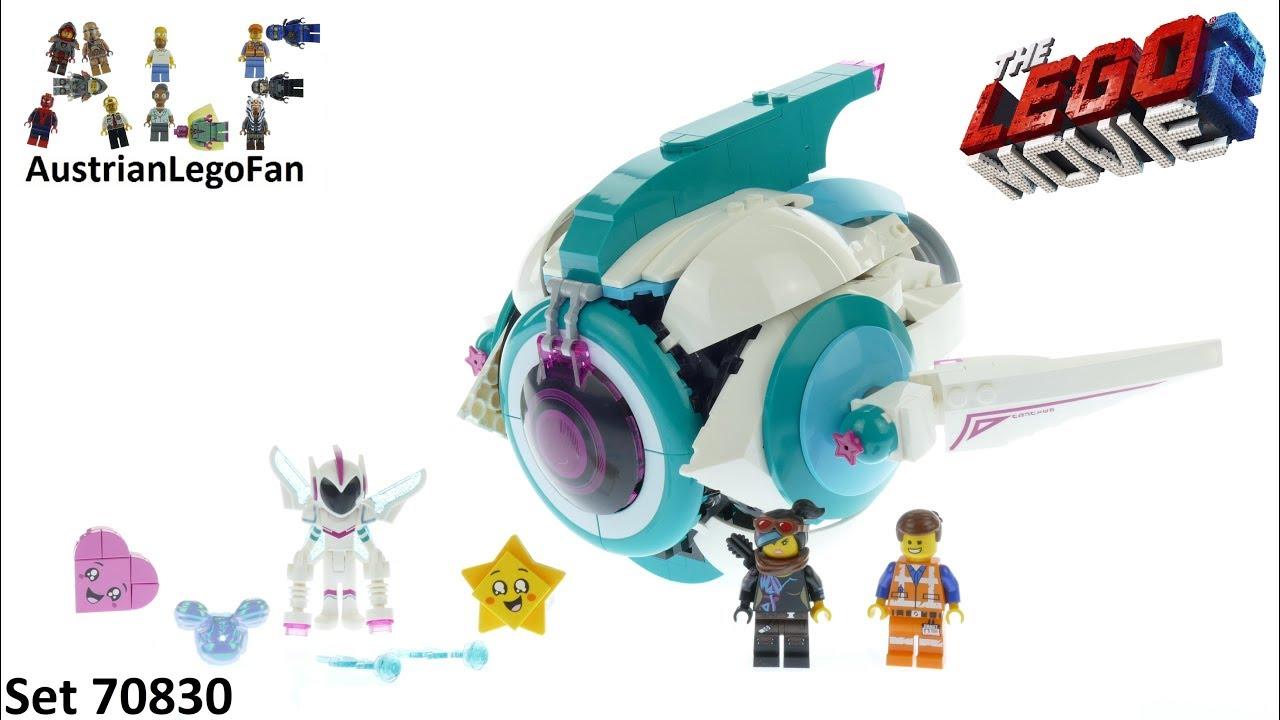77c9280ba Lego Movie 2 70830 Sweet Mayhem´s Systar Starship! - Lego 70830 ...