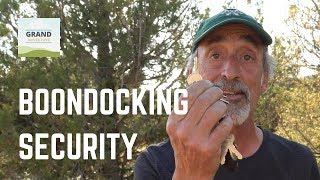 Ep. 105: Boondocking Security | RV tips tricks how-to