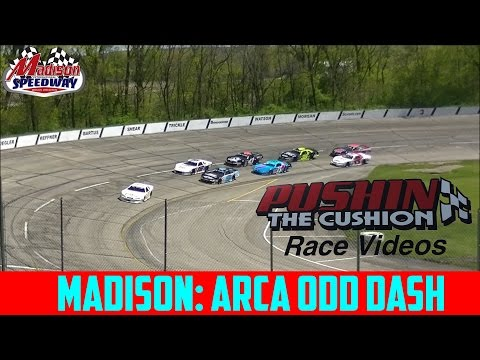 5/7/2017 Madison International Speedway: Arca Odd Dash