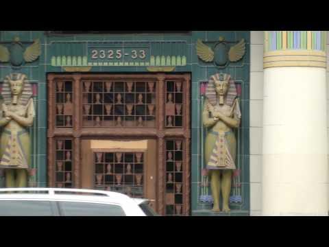 Rebbie Moving & Storage Building Egyptian Revival, National Historic Spot