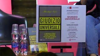 Nuzzi presenta il libro 'Giudizio Universale' e lancia l'allarme: