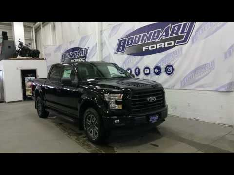 2017 Ford F-150 XLT Sport W/ Back up camera, Box Link Review | Boundary Ford