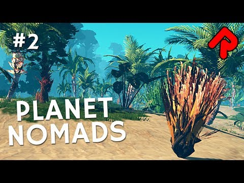 Building Base & Mining Desert for Aluminium & Cobalt | Let's play Planet Nomads gameplay ep 2