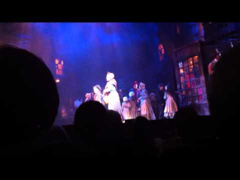Scrooge the Musical Uk Tour 2011/12