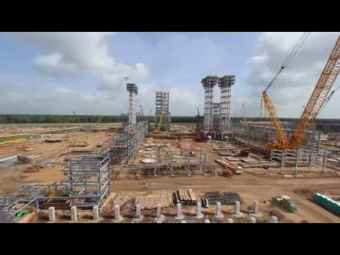 USGC Petrochemicals Project: Old Ocean Timelapse Video - Sep